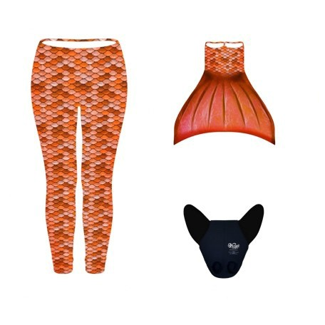CONJUNTO LEGGINGS NARANJA (3pcs)