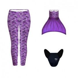 CONJUNTO LEGGINGS LILA (3pcs)