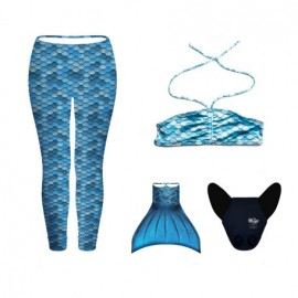 CONJUNTO LEGGINGS AZUL