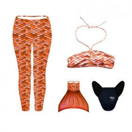 CONJUNTO LEGGINGS NARANJA
