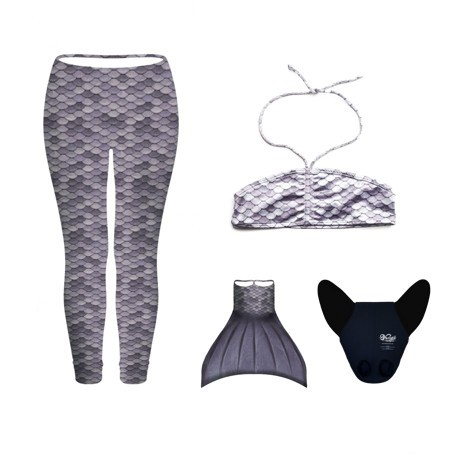 CONJUNTO LEGGINGS GRIS