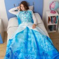 Manta de princesa Azul
