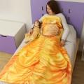 Manta de princesa Amarilla