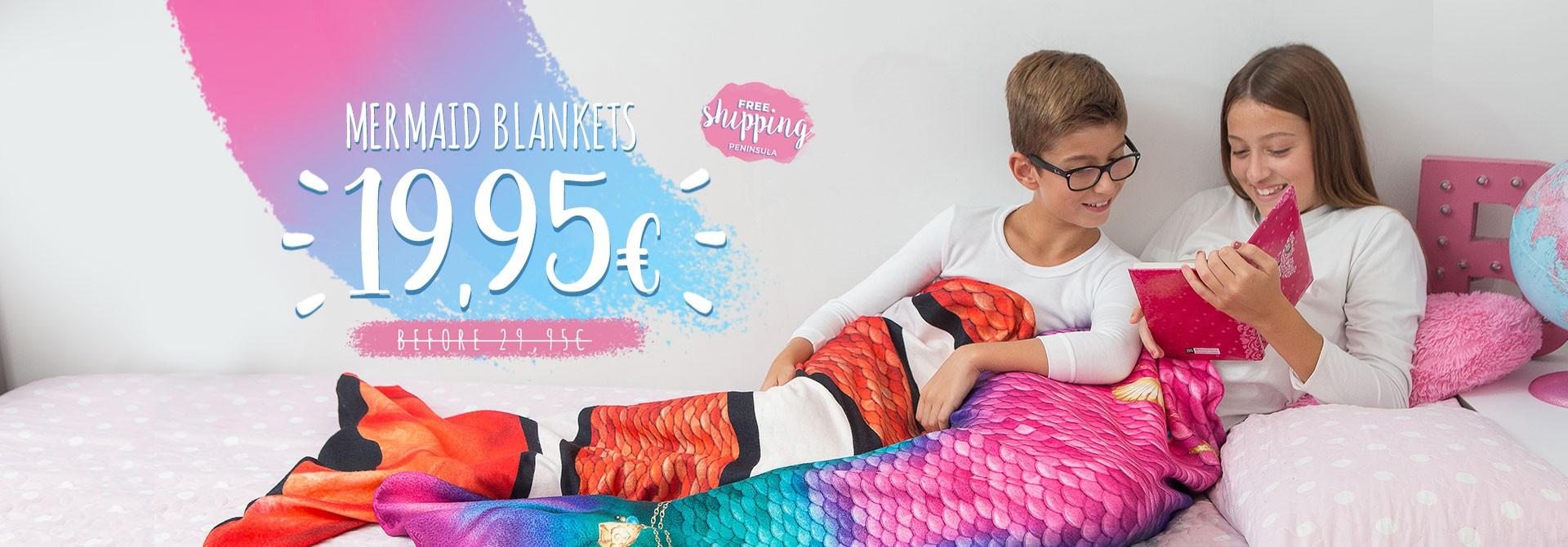 Mermaid Blankets 2021